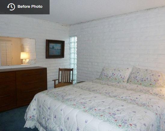 Bedroom - before...