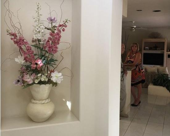 Foyer - before...