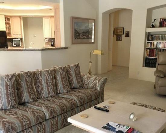 Family Room - before...