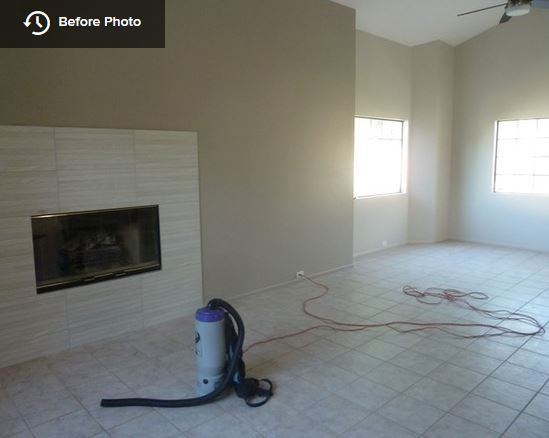 Living Room - before...